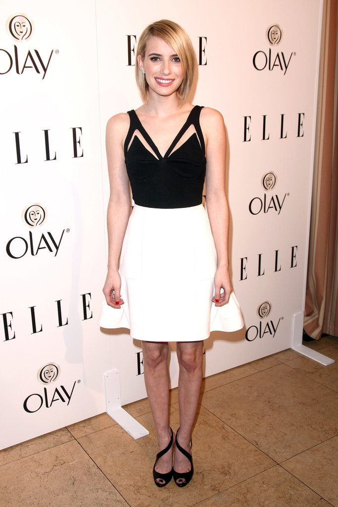 Emma Roberts at the Elle Women in Television Celebration