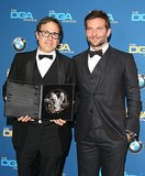 Bradley Cooper helped pay tribute to director David O. Russell.