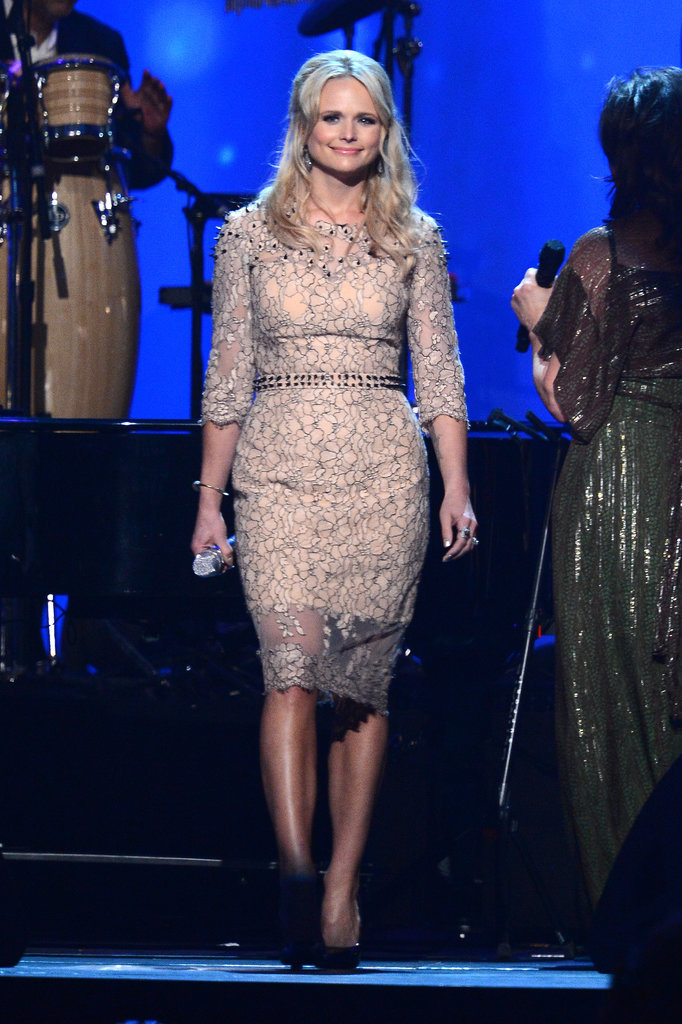 Miranda Lambert at the MusiCares Person of the Year Award