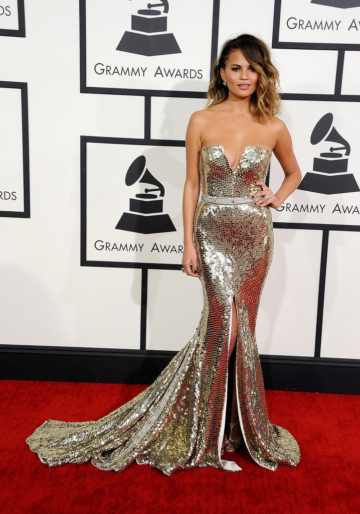 chrissy teigen grammy awards