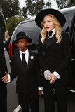 Madonna Is Having a Twin Moment With Her Son at the Grammys