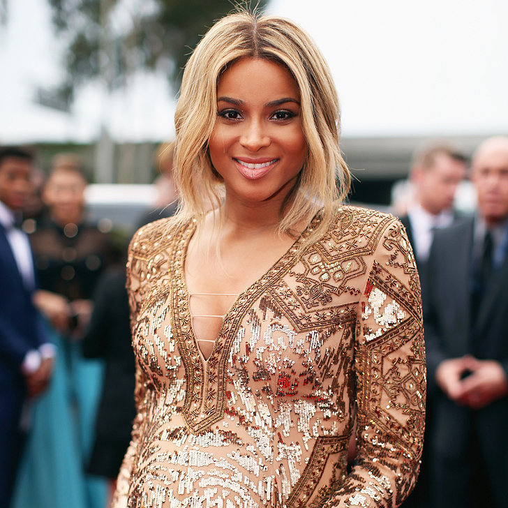 Ciara's Hair and Makeup at the Grammys 2014