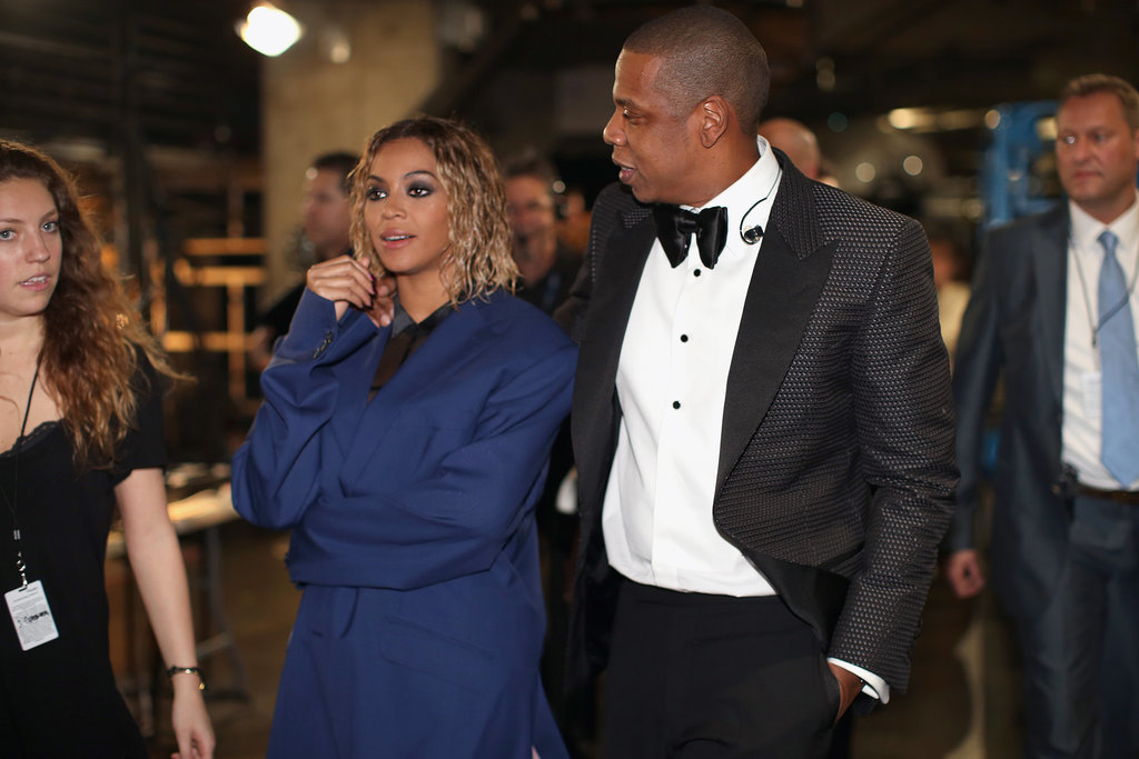 Beyoncé and Jay Z's Grammys PDA Doesn't Stop at the Stage