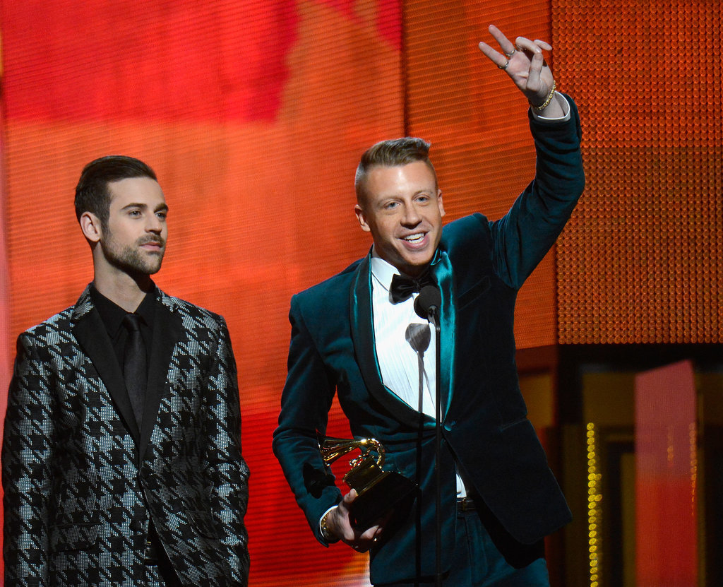 Macklemore & Ryan Lewis won best new artist at the Grammys.