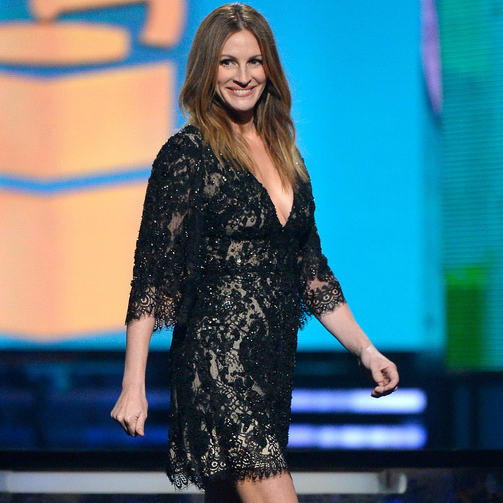 Julia Roberts Dress at Grammys 2014
