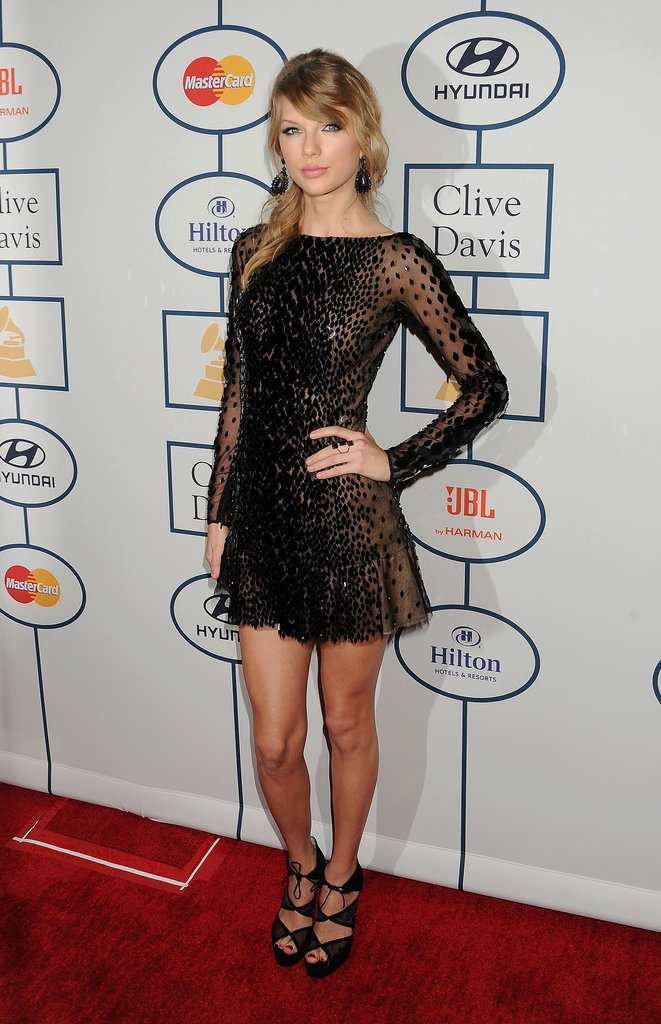 Taylor Swift at the Pre-Grammys Gala