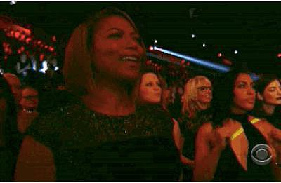 Queen Latifah Was Really Feeling It