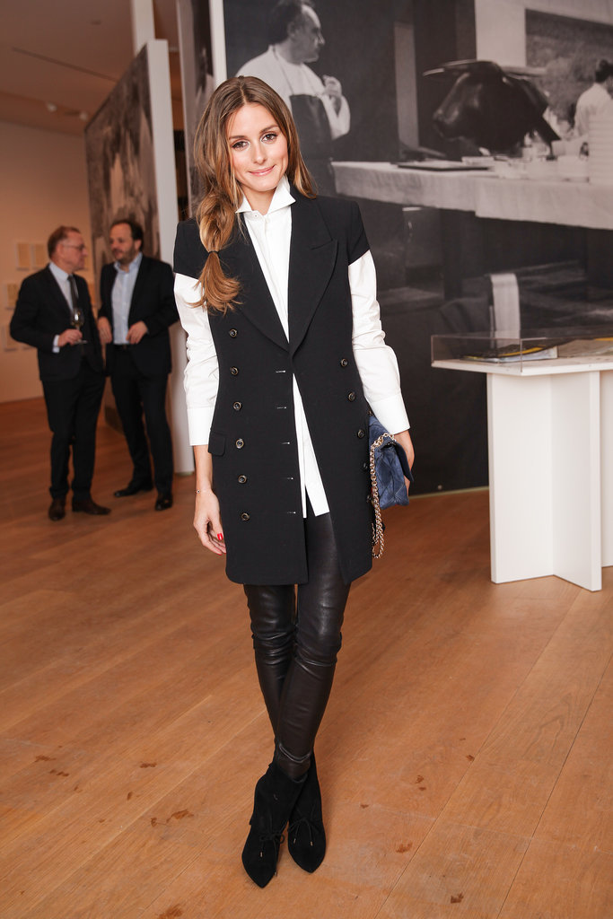 Olivia Palermo at the Notes on Creativity opening with Dom Pérignon.
