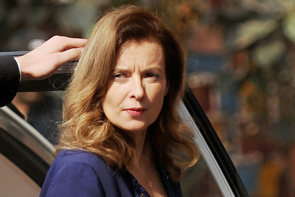 Bid Adieu to France's First Lady, Valérie Trierweiler