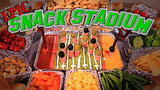 Make Your Own Epic Super Bowl Snack Stadium