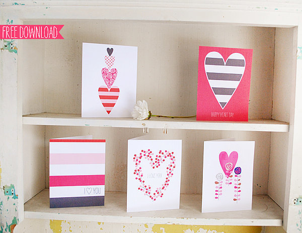 Adorable Valentine's Printables