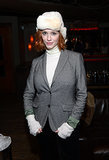 Christina Hendricks partied away at the SLS Las Vegas Presents The Sayers Club at Sundance.