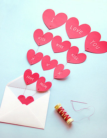 Heart Garland Printable