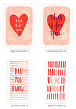 Watercolor Valentine's Printables