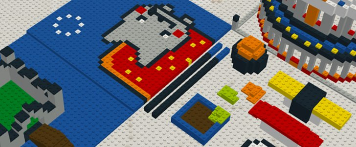Build Lego Masterpieces Around the World With Just a Click