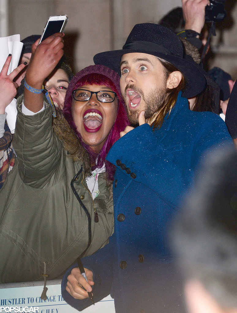 Jared Leto's Silly Faces Are Guaranteed to Put You in a Good Mood