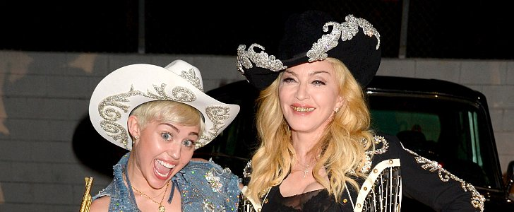"See Miley and Madonna Team Up For a ""Pretty F*cking Cool"" Performance"