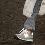 Rihanna Wearing New Balance Sneakers