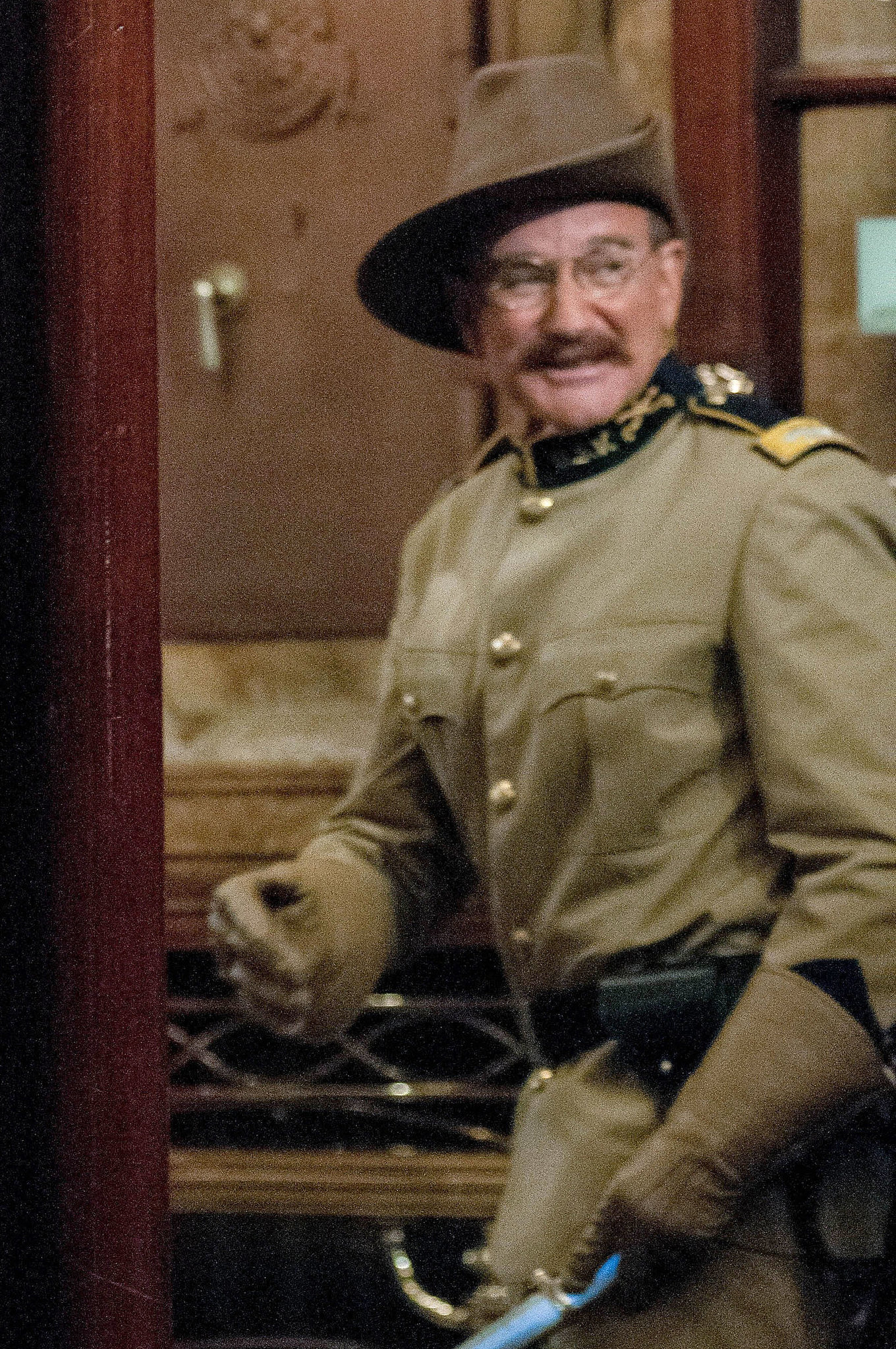 Robin Williams channeled his inner Theodore Roosevelt ...