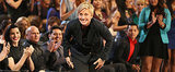 Ellen DeGeneres Dances as Goldilocks in a Super Bowl Ad