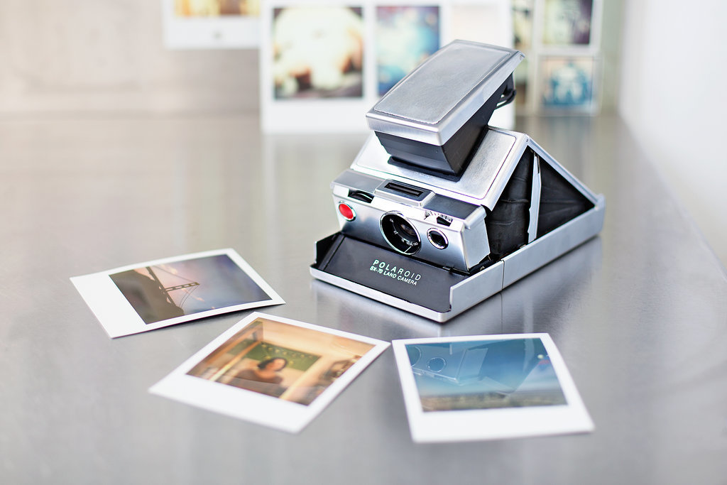 Restored Polaroid SX-70
