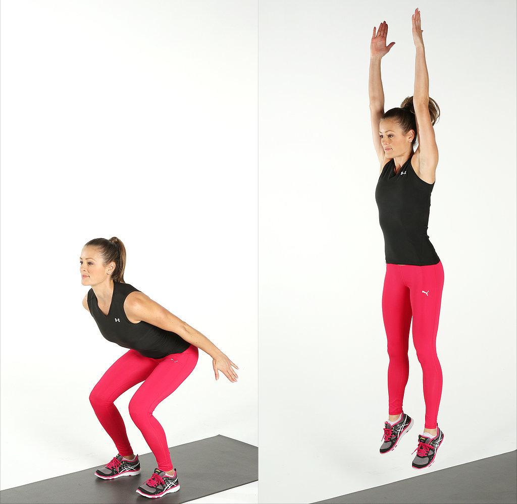 How to Do Jump Squats | POPSUGAR Fitness