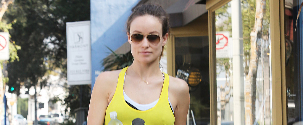 All the Baby Bumps And Fit Celebs That Made It to the Gym This Week