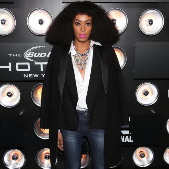 Celebrity Style At 2014 Super Bowl Parties: Solange Knowles