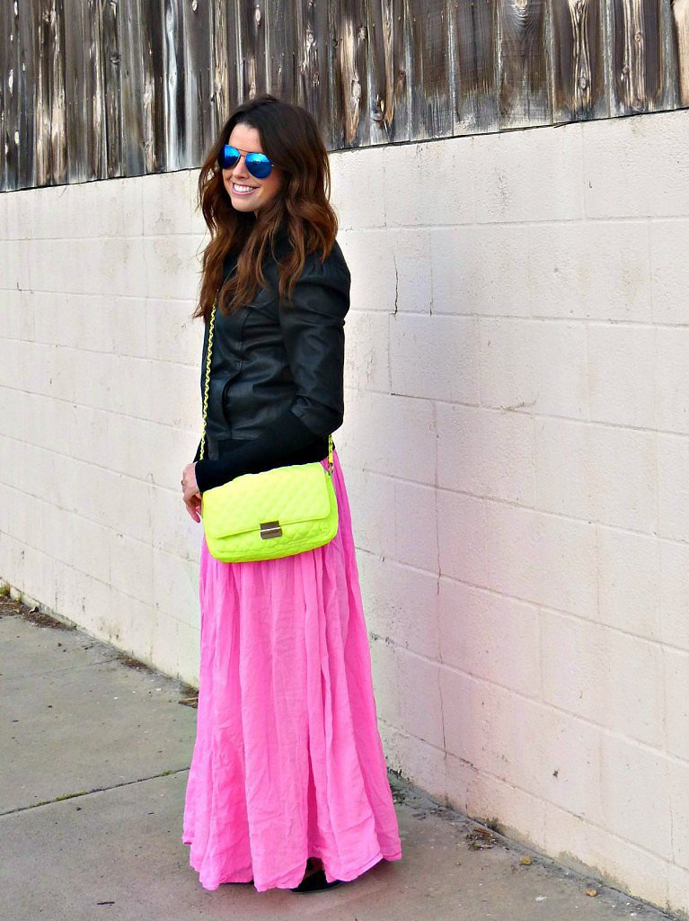 Congrats, Abigail Sterling! It's impossible not to smile at an outfit that colorful.