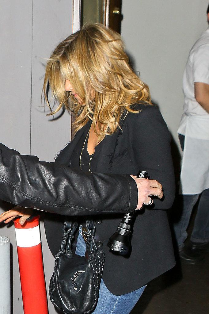 Jennifer Aniston New Haircut 2014