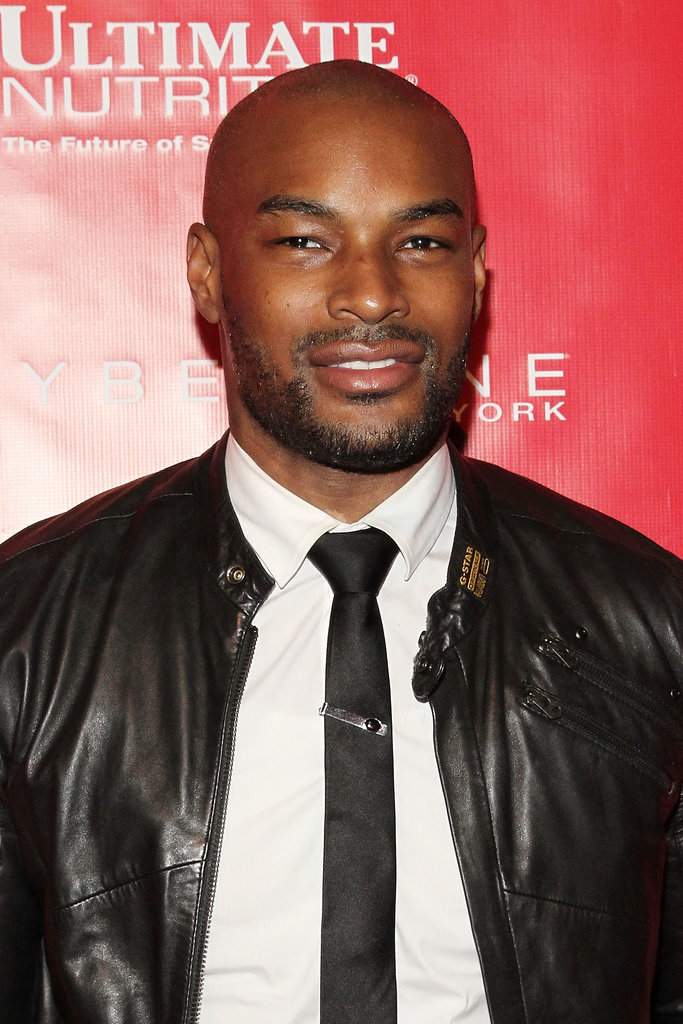 Tyson Beckford suited up for the Shape and Men's Fitness party.