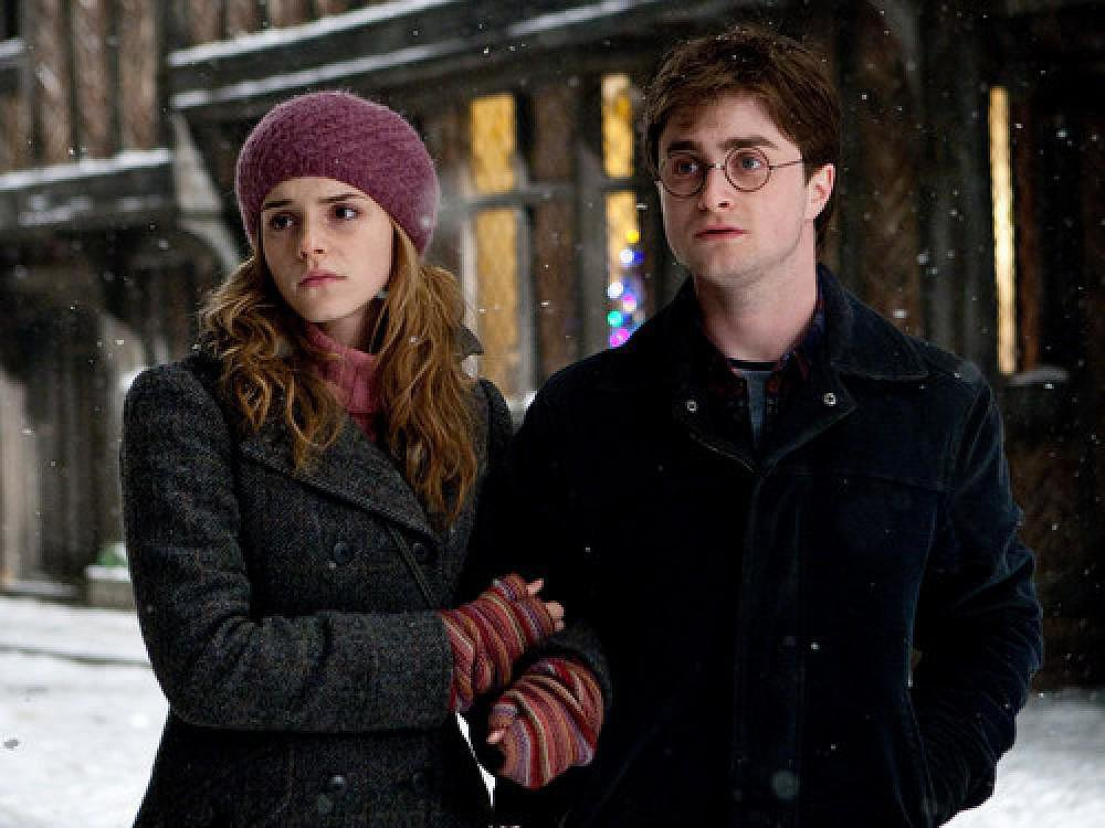 JK Rowling Says Hermione Should Have Ended Up With Harry ...
