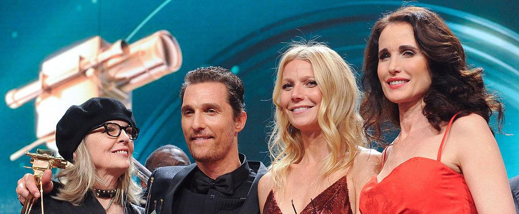 Gwyneth Paltrow Stuns at Star-Studded Golden Camera Awards