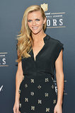 Brooklyn Decker was fresh-faced at the NFL Honors award show on Saturday.