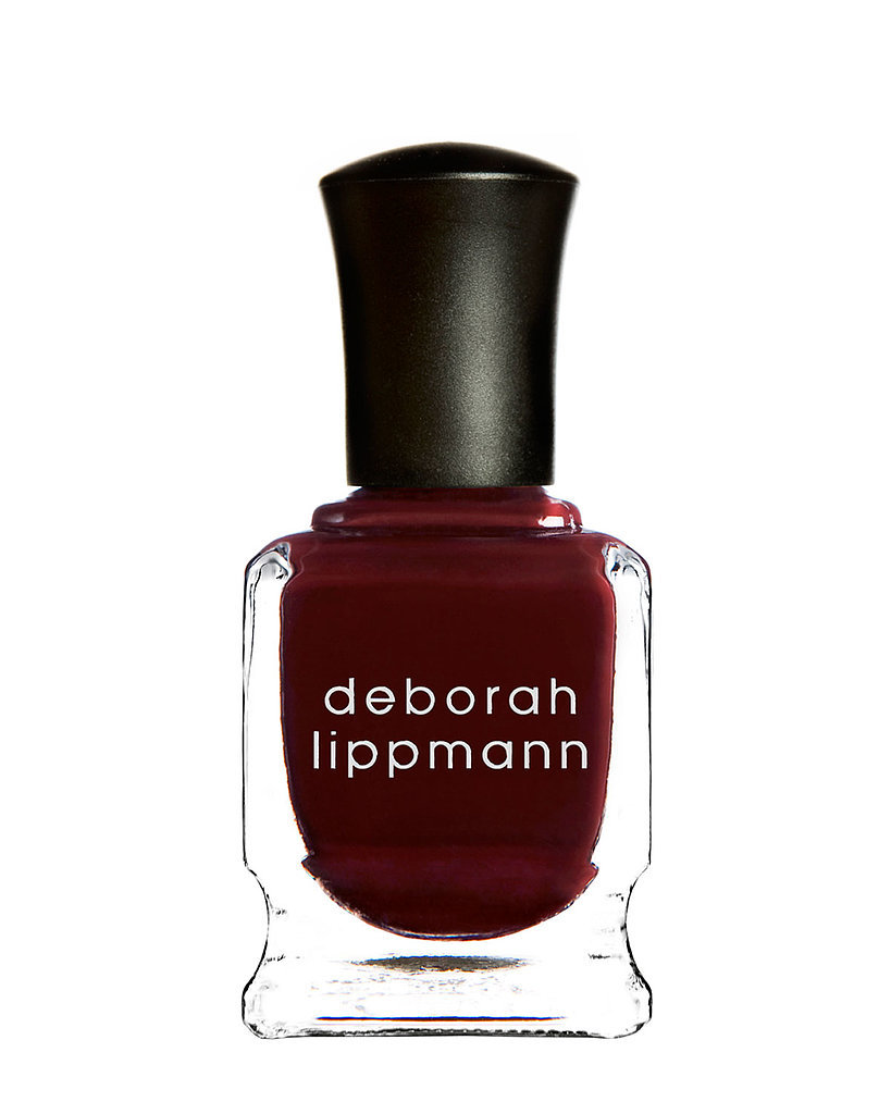 "Not only does this Deborah Lippmann deep red nail polish ($19) mirror one's dark feelings toward the holiday, it's aptly named ""Single Ladies."""