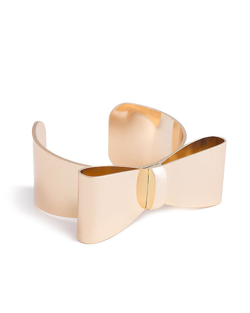 Erin Fetherston for JewelMint Bow Corsage Cuff ($30)