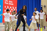 Michelle Obama's got some great dance moves . . .