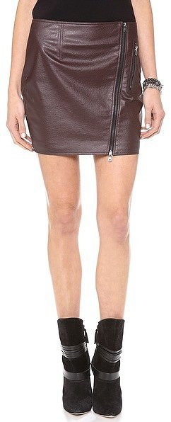 Dolce Vita Leather Skirt