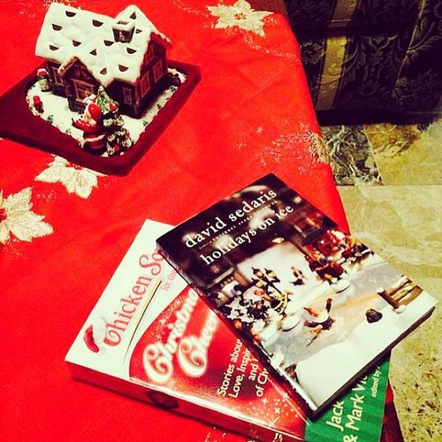 """Cozy evenings and Christmas books,"" wrote alexlondon23."