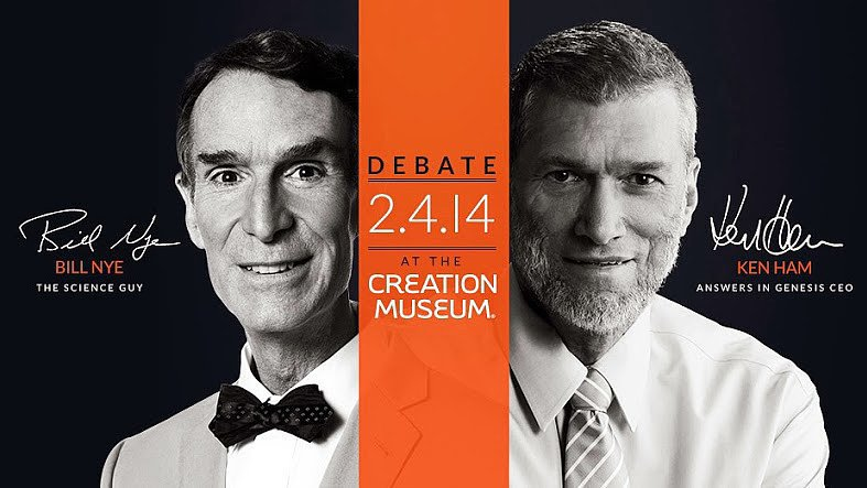Bill Nye single-handedly wins the #creationdebate.