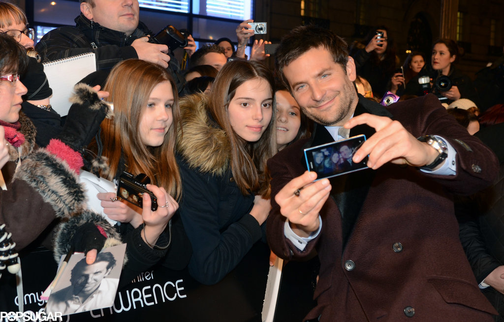 These Girls Don't Look That Excited to Be Taking a Selfie With Bradley Cooper