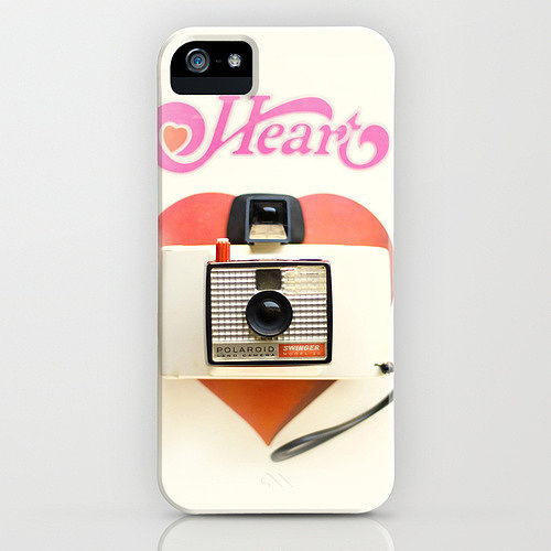 Photo heart case ($35) for iPhone models and Samsung Galaxy S4
