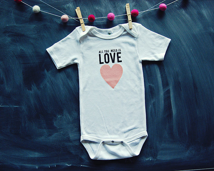 All You Need Is Love Onesie