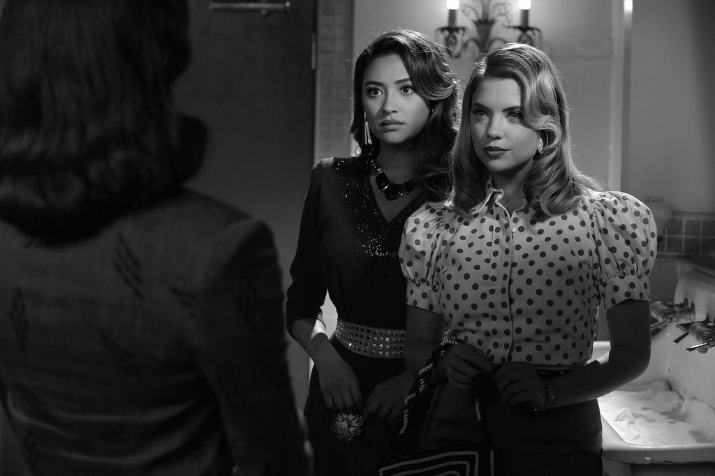 Emily and Hanna pair up to confront Spencer.  Source: ABC Family