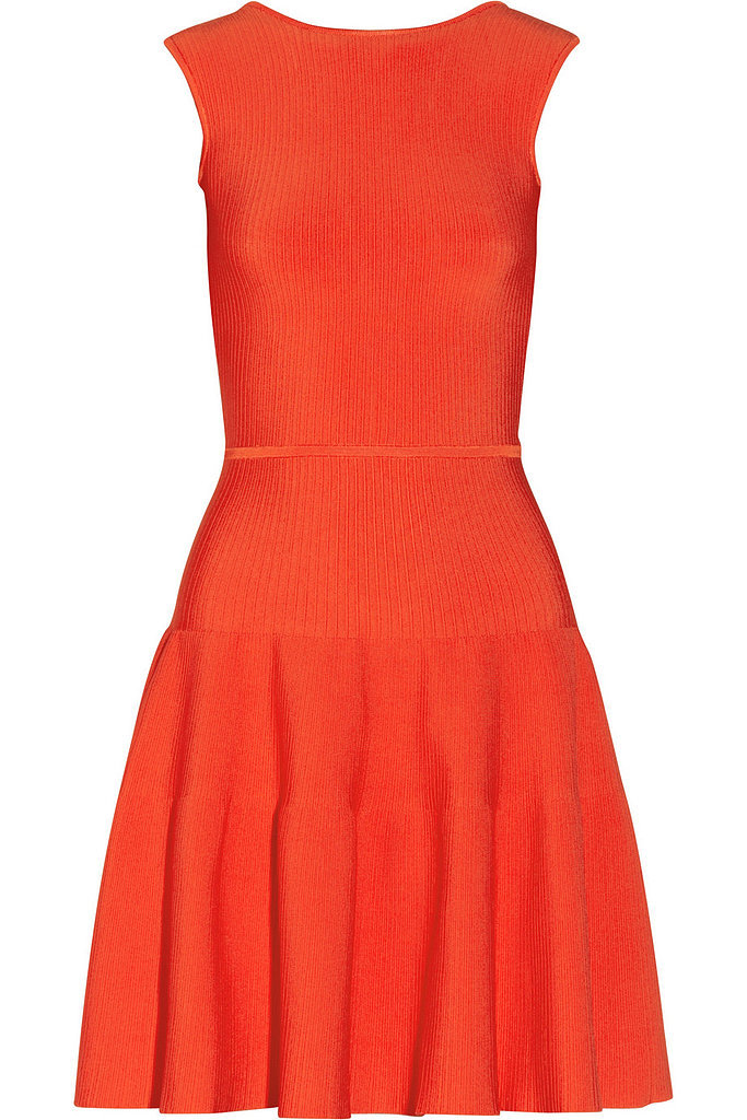 Issa Orange Ribbed Dress ($310, originally $625)