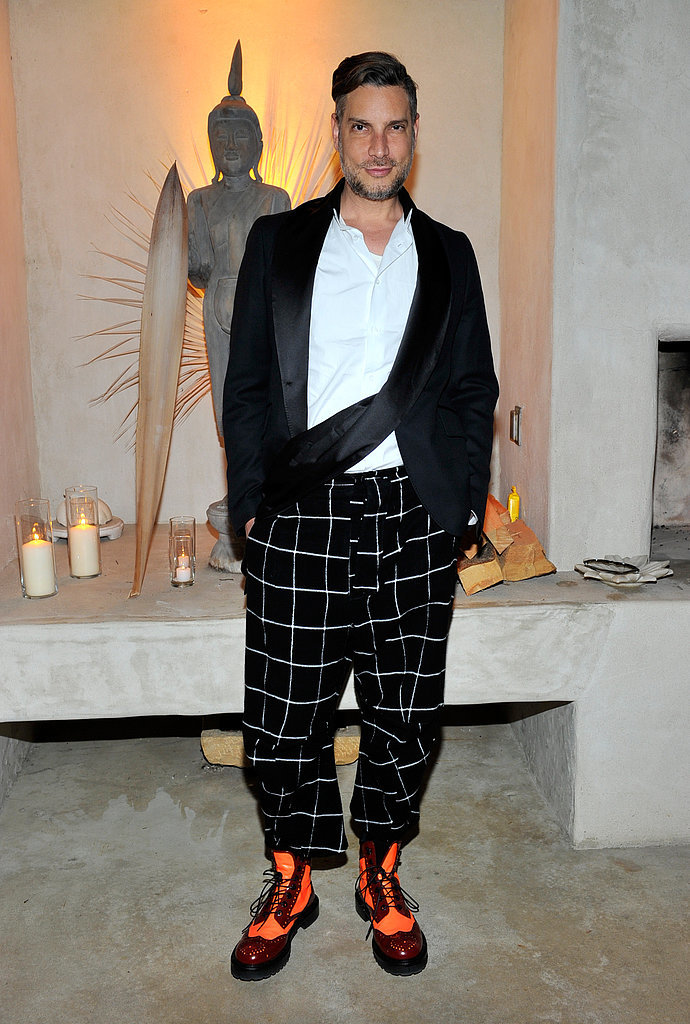 Cameron Silver at Barneys' cocktail p