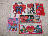 These vintage superhero valentines ($5) are all about showing the teacher some love.