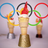 Olympic Torch Citrus Cupcakes