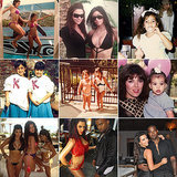 Is Kim Kardashian the Queen of #TBT and #FBF?