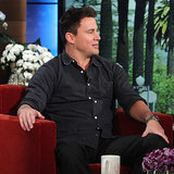 Channing Tatum Interview on Ellen in February 2014 | Video